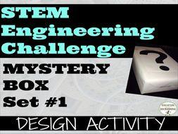 S.T.E.M. Engineering Challenge: Mystery Box Engineering Activity