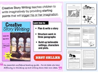 Creative Story Writing (ages 9-14) Teach Your Child To Write Good English series