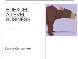 A level Business student study companion, specification course booklet