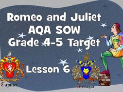 Romeo is lovesick - Lesson 6 (Romeo and Juliet)