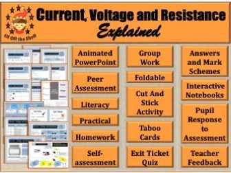 Current Electricity-Current, Voltage and Resistance-What are They? KS3