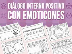 Diálogo Interno Positivo con Emoticones - Spanish Version