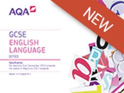 English Language AQA 2017 Paper 2 Mock and Lessons