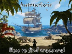 Pirates Adventure Instructions: How to find treasure/land. (12m video hook and templates.)