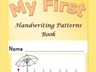 Handwriting Patterns Book - 24 page booklet