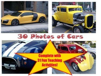 30 Photos Of Cars PowerPoint Presentation + 31 Fun Teaching Activities To Try With Your Class!