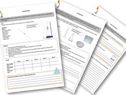 Chem Required Practical Worksheets AQA