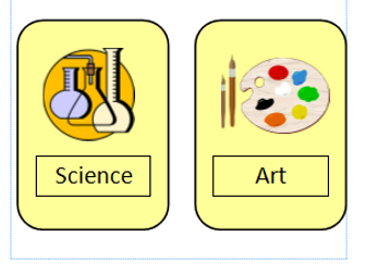 Visual timetable for primary children