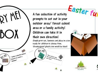 Try me box; Fun Easter edition 1, Childrens Easter activity