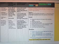 Scrooge's Character in Stave One ( Full lesson plan with resources)