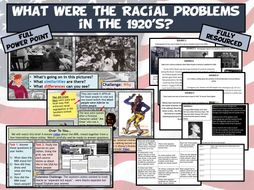 USA L5 - Race Relations & Segregation in the 20's
