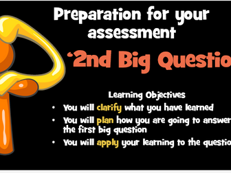 KS3 RE Ultimate Questions Part 2 - Suffering.  Assessment