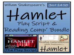 UKS2 Literacy - William Shakespeare's Hamlet - Play Script & Reading Comprehension Bundle