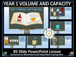 Volume and Capacity - Year 1 - PowerPoint Lesson - White Rose Maths Style