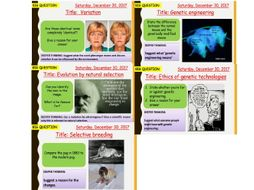 AQA new specification-B13 Variation and evolution-Combined/Additional science bundle