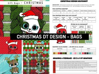 CHRISTMAS DT GRAPHICS | Festive BAG Design Activity