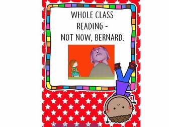 Whole Class Reading - Not Now, Bernard