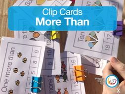 'More Than' Clip Cards