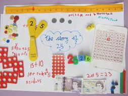 Year 1 Representing And Writing Numbers In Different Ways By