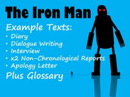 Iron Man 6 Example Texts Plus All Chapter Glossary BUNDLE