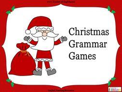 Christmas Grammar Activities