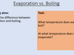 KS3 Boiling and Evaporation