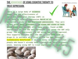 Psychology A level psychopathology notes for depression