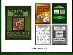 BUNDLE: EARLY AMERICAN PIONEERS - Lesson, Reading Comprehension and Bingo