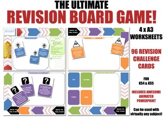 REVISION BOARD GAME - AQA PHILOSOPHY PACK
