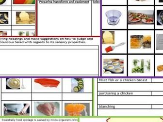 New gcse food technology aqaedexcel food preparation skills1 new gcse food technology aqaedexcel 1st of 3 bundles incl 2x forumfinder Gallery
