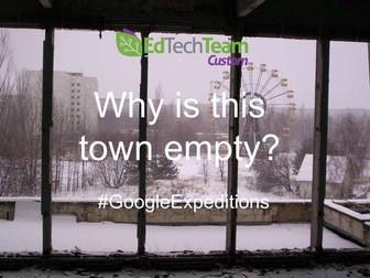 Chernobyl Mystery - #GoogleExpedition