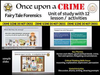 Fairytale Forensics Learning Unit