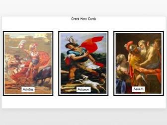 Greek Hero Cards