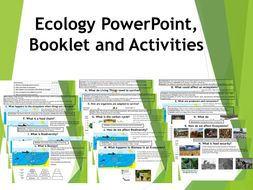 Ecology Booklet and Activities