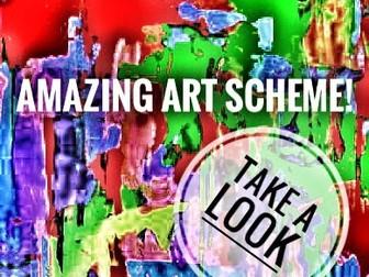 Art Schemes of Work KS2 and 3