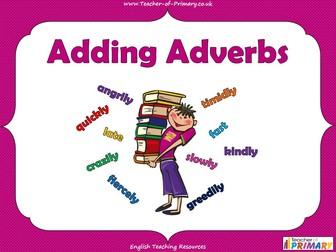 Adding Adverbs - KS2