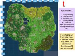 Fortnite map skills