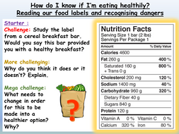 Healthy Eating PSHE 2020 Unit