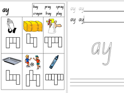 Kindergarten Foundation Phonics Worksheets Set 3 Teaching Resources