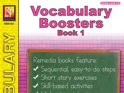 Vocabulary Boosters - Book 1