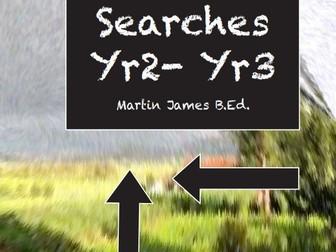 10 Word Searches for yr 2- yr 3