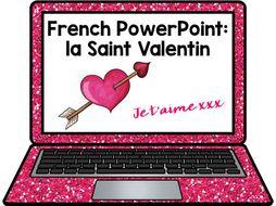 French Valentine's Day Bundle La Saint Valentin