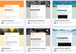 Science revision resources AQA GCSE