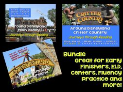 Journeys through Reading: Grade 5: Disneyland - Bundle 2 ESL, Centers, Interventions