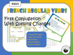 French -er verbs with spelling changes