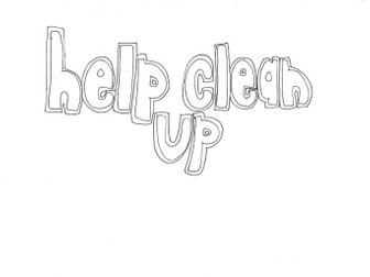 Help Clean Up (Classroom Rules) Colouring Page