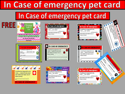 Pet I D  cards by downbythebay - Teaching Resources - Tes