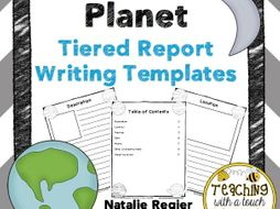 Planet Report: Tiered Report Writing Templates