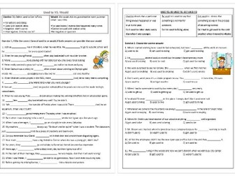 Present Perfect VS Past Simple - Worksheets x 12 - 80% OFF by ...
