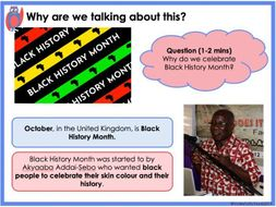 Can music teach us about black history? - Primary KS1/KS2 Black History Resource